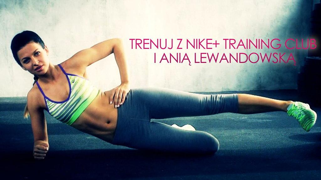 Trening w domu z Anią Lewandowską