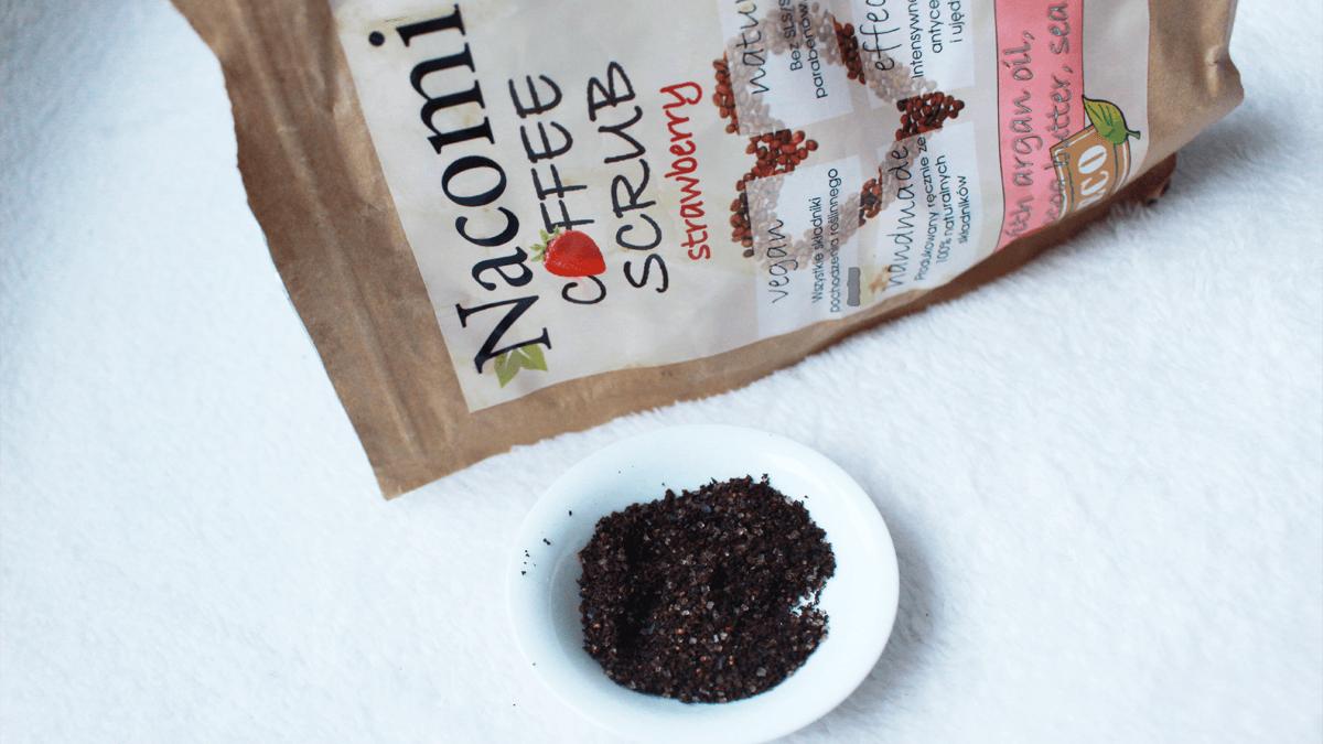 Pod lupą: truskawkowy peeling kawowy Nacomi