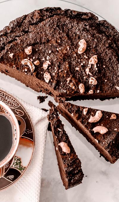 Przepis na brownie z bakłażana! Bezglutenowe i mocno czekoladowe ciasto!