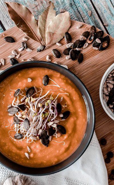 Prosty przepis na zupę dyniową