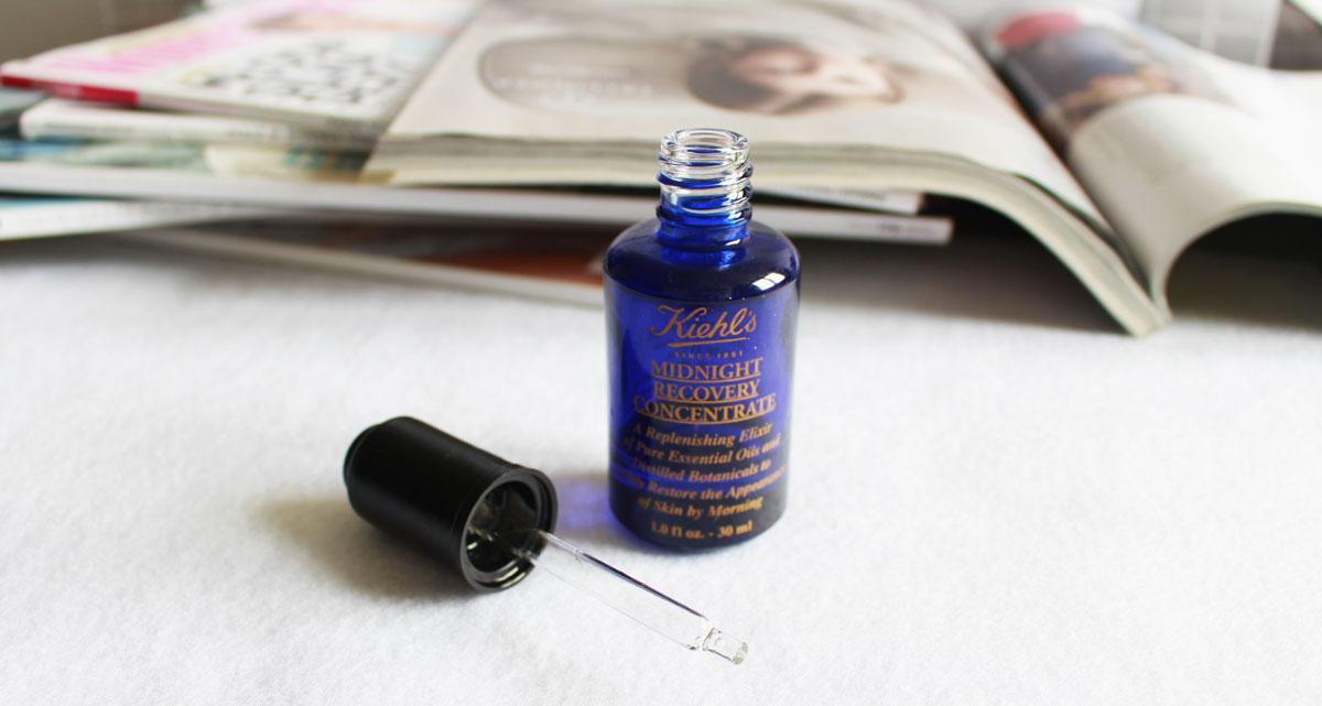 Pod lupą: Kiehl's Midnight Recovery Concentrate, czyli serum-legenda