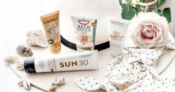 Ochrona słoneczna w pigułce. 12 najlepszych kremów z filtrem chemicznym, mineralnym i mieszanym!